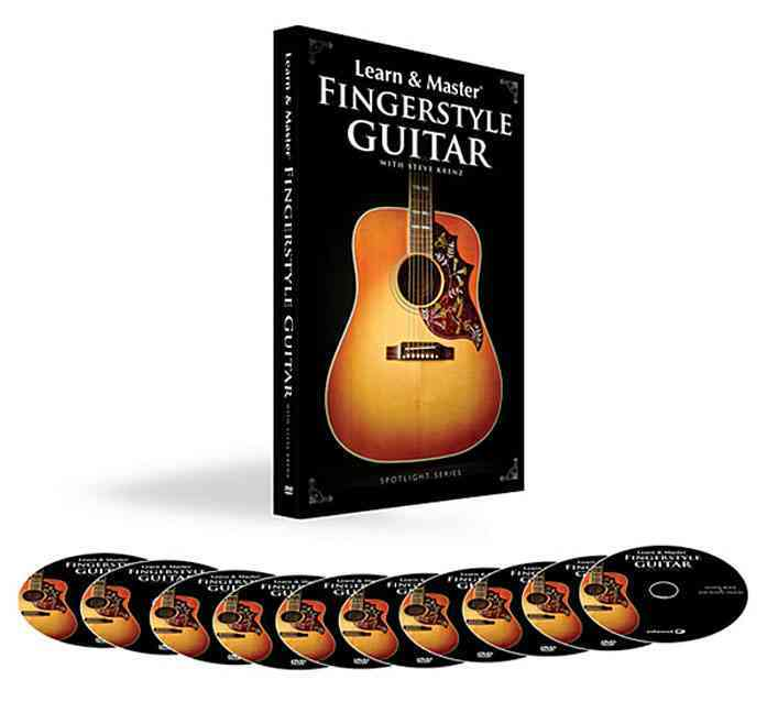 Learn & Master Fingerstyle Guitar By Krenz, Steve
